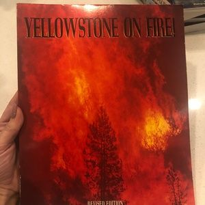 Yellowstone on Fire Paperback